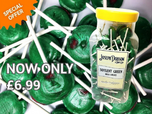 DOBSONS SOYLENT GREEN MEGA LOLLY x90